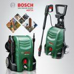 Máy rửa xe gia đình Bosch với thiết kế nhỏ gọn hiện đại