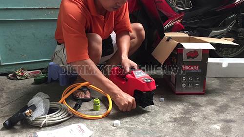 Cách lắp đặt máy rửa xe mini