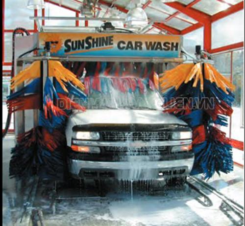 Giá máy rửa xe tự động