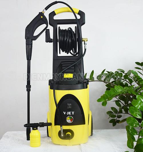 máy rửa xe VJet-Trung Quốc thiết kế nhỏ gọn, hiện đại