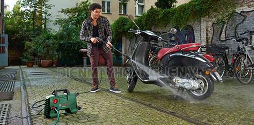 cách sử dụng máy rửa xe mini