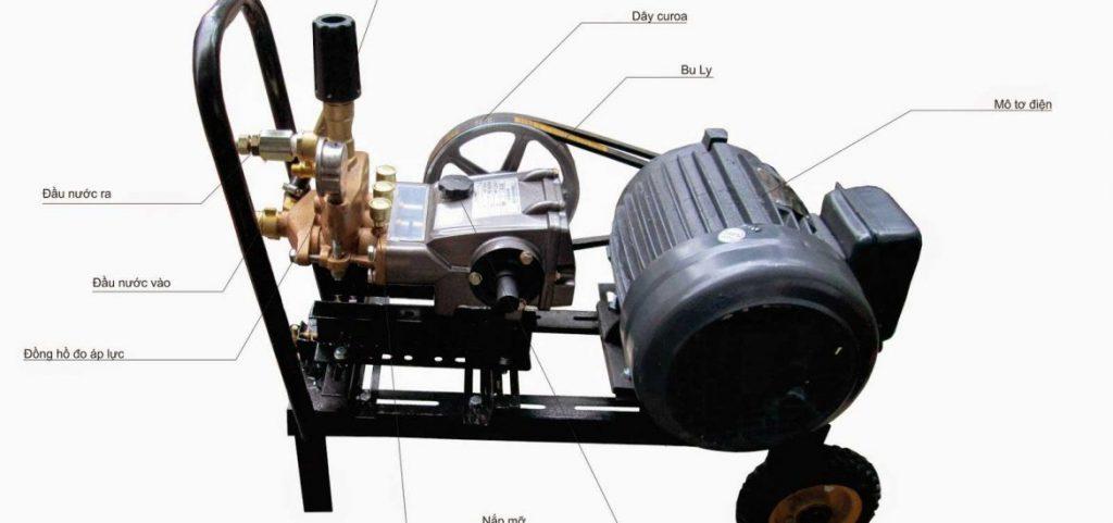Máy rửa xe dây đai Trung Quốc