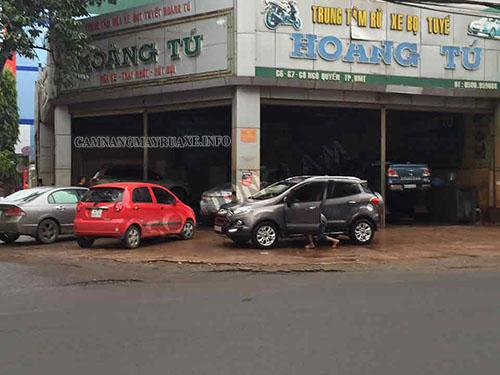 Mô hình kinh doanh rửa xe chuyên nghiệp