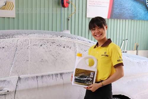 Rửa xe không chạm là không cần chạm tay thay thế phương pháp truyền thống