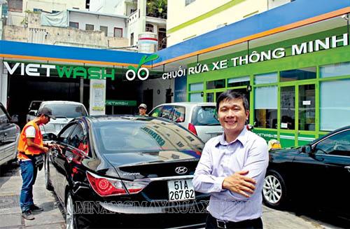 Mô hình rửa xe tự động đang dần trở nên phổ biến hơn
