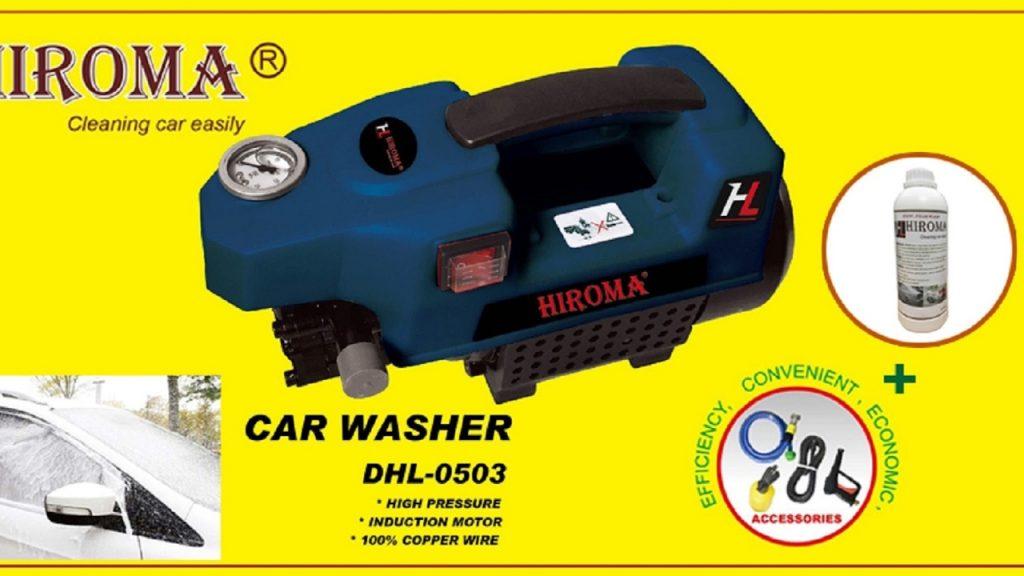 Máy rửa xe Hiroma có tốt không?