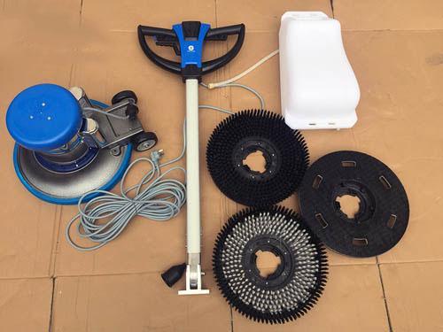 vệ sinh phụ kiện máy chà sàn đơn