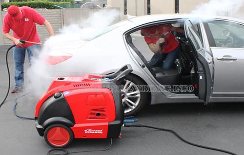 Máy rửa xe hơi nước nóng công nghệ cao cho hiệu quả làm sạch vượt tội, bảo vệ động cơ tốt nhất