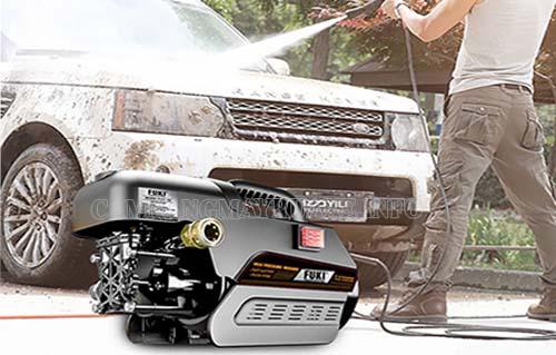 Với máy rửa xe Fuki, người dùng sẽ làm chủ trong mọi công việc