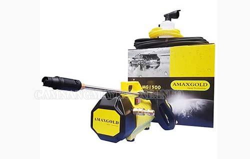 Máy rửa xe cao cấp Amax AMG 1500 sở hữu thiết kế ấn tượng thu hút đông đảo người tiêu dùng