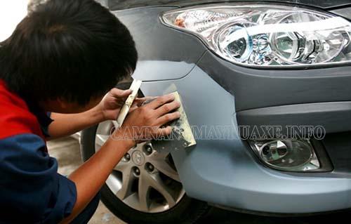 nguyên nhân và cách khắc phục tình trạng rửa xe máy bị xước