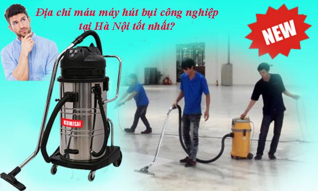 Nhu cầu sử dụng máy hút bụi công nghiệp tăng cao