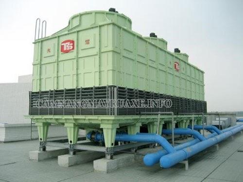 Ứng dụng của tháp giải nhiệt công nghiệp 600RT