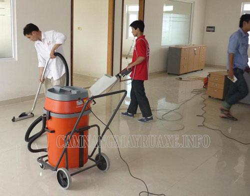 Quy trình vệ sinh công trình sau xây dựng