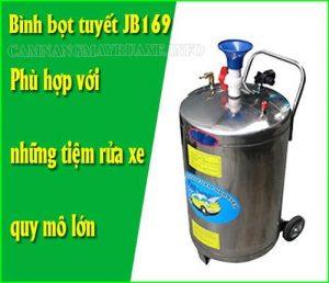 Bình xịt bọt rửa xe JB169 phù hợp với tiệm rửa xe quy mô lớn