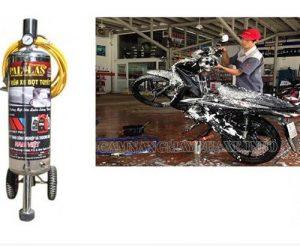 Bình phun bọt tuyết giúp quá trình rửa xe nhanh chóng, đơn giản đạt hiệu quả tốt