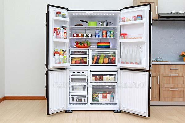 Tủ lạnh sở hữu tính năng hiện đại, bảo quản thực phẩm tươi ngon