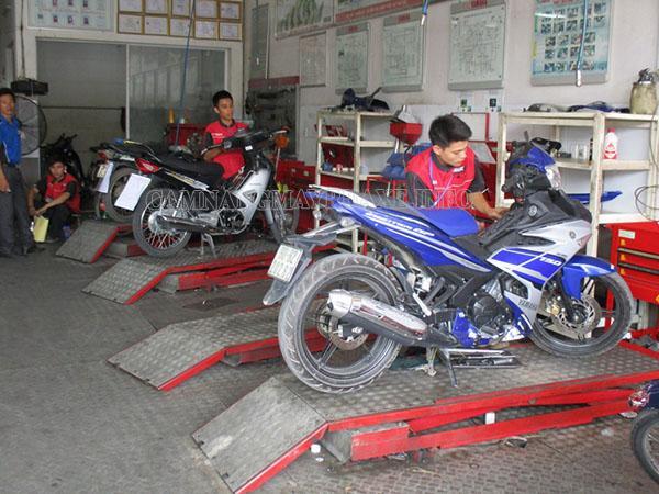 Sửa chữa xe máy tại các cơ sở uy tín