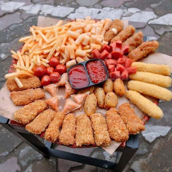 Đồ ăn vặt là một trong những mặt hàng bán chạy nhất hiện nay