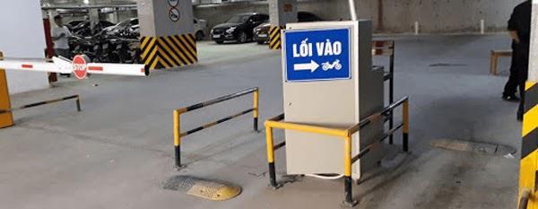 lắp đặt bãi đỗ xe thông minh