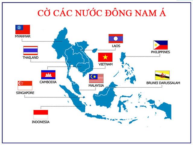 cờ các nước đông nam á