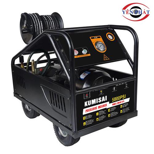Máy rửa xe ô tô công suất lớn Kumisai 22M58-15T4 (15Kw)