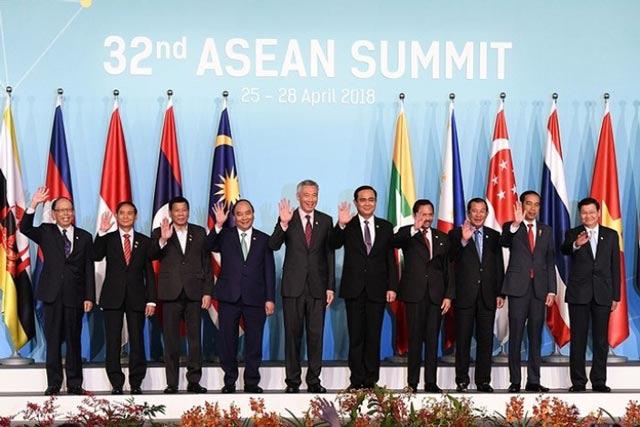 Các nước thành viên tham gia tổ chức Asean